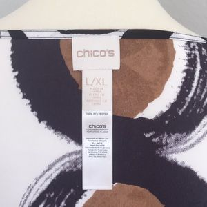 Poncho type blouse, Chicos